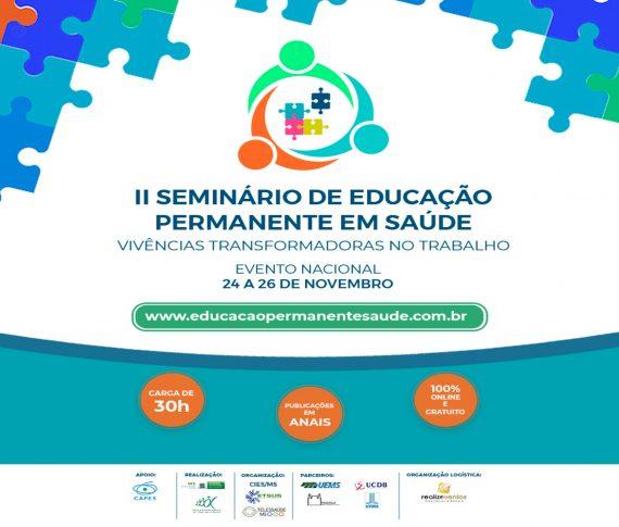II Seminario de Educação Permanente em Saúde